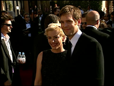 emmy awards 2002 entrances 1 of 2 at the 2002 emmy awards at the shrine auditorium in los angeles, california on september 22, 2002. - shrine auditorium stock videos & royalty-free footage