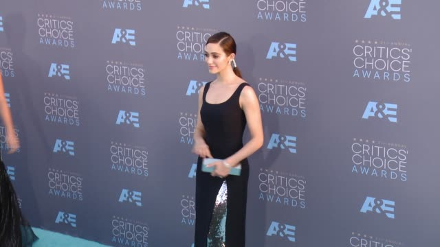 Emmy Rossum at 21st Annual Critics' Choice Awards in Los Angeles CA