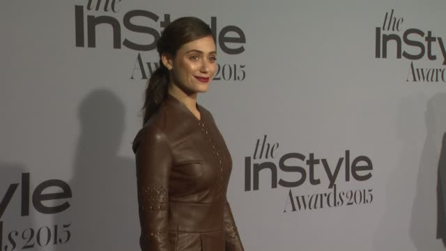 Emmy Rossum at InStyle Presents The Inaugural 'InStyle Awards' October 26 2015 in Los Angeles California