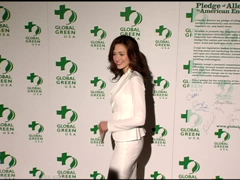 Emmy Rossum at the Clean Energy Solutions Music at 'Rock the Earth' with Hollywood Stars Joining Global Green at Day After Club in Hollywood...