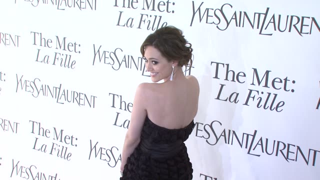 Emmy Rossum at the Opening Night of 'La Fille Du Regiment' at The Metropolitan Opera at New York NY