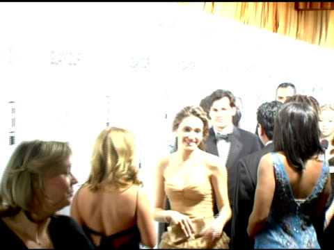Emmy Rossum at the Weinstein Company and Glamour Magazine 2006 Golden Globes Party at Trader Vic's in Beverly Hills California on January 16 2006