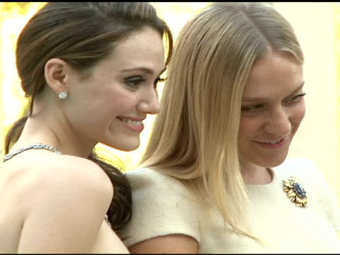 emmy rossum, chlo� sevigny at the cartier hosts the third annual loveday celebration at los angeles california. - occurrence stock videos & royalty-free footage
