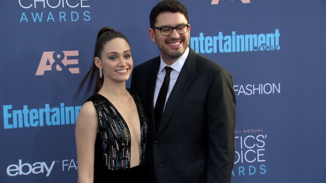 Emmy Rossum Sam Esmail at 22nd Annual Critics' Choice Awards in Los Angeles CA