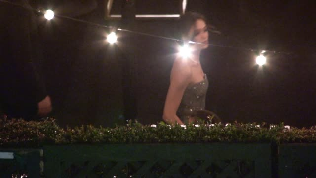 emmy rossum sam esmail depart the sag awards after party at the shrine auditorium in los angeles celebrity sightings in los angeles ca on - shrine auditorium stock videos and b-roll footage