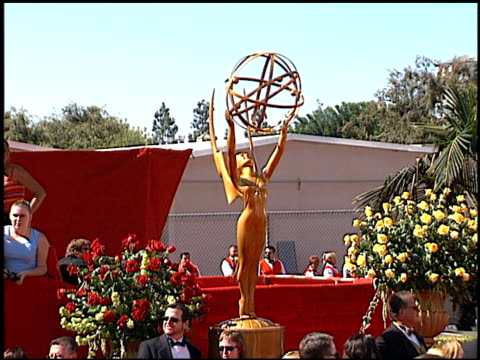 emmy statue at the 2000 emmy awards at the shrine auditorium in los angeles california on september 10 2000 - emmy statue stock-videos und b-roll-filmmaterial