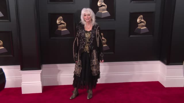 Emmylou Harris at 60th Grammy Awards Celebration Party at Madison Square Garden on January 28 2018 in New York City