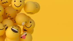 Emoji Balls - Floating #3 (Left)