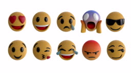 Emoji icons 4k