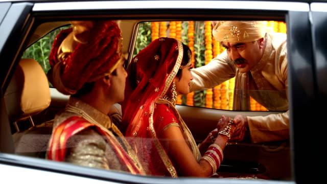 Emotional father at daughter's viadi, Delhi, India