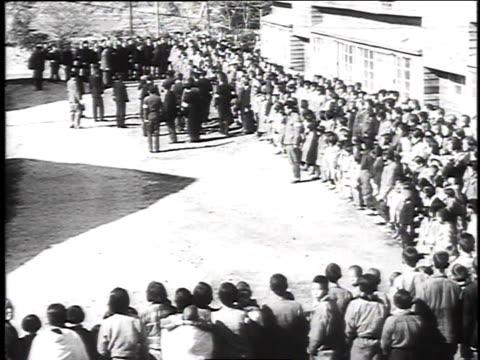 emperor hirohito greeting a crowd / japan - hirohito stock videos & royalty-free footage