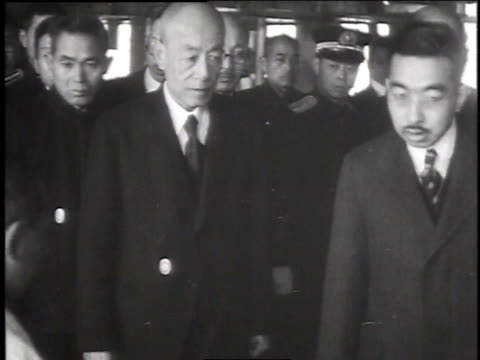 emperor hirohito / japan - 1947 stock videos & royalty-free footage