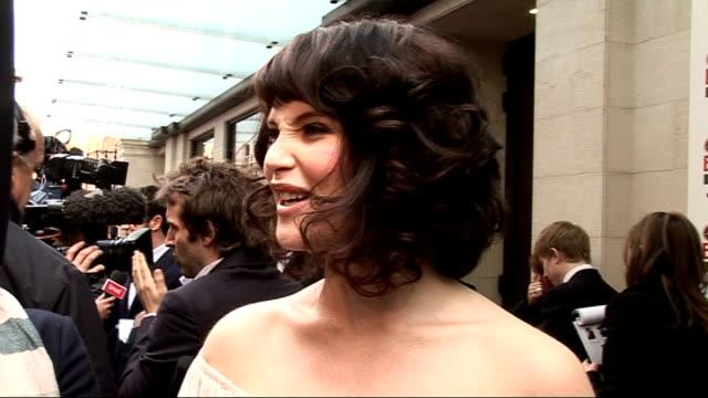 Empire Film Awards 2009 Gemma Arterton interview SOT