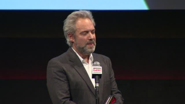 empire inspiration award sam mendes at the jameson empire awards show at the grosvenor house hotel on march 24 2013 in london england - sam mendes stock videos & royalty-free footage