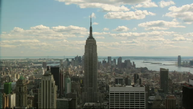 HA WS Empire State Building and surrounding cityscape / Manhattan, New York, USA