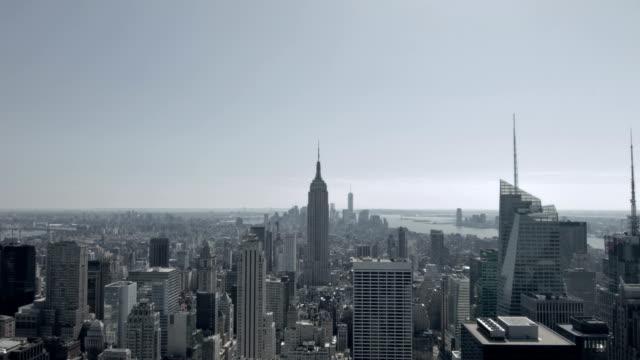 empire state building in new york - manhattan new york city stock videos & royalty-free footage