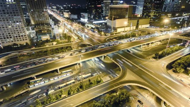 vidéos et rushes de emple of beijing guomao traffic - moins de 10 secondes