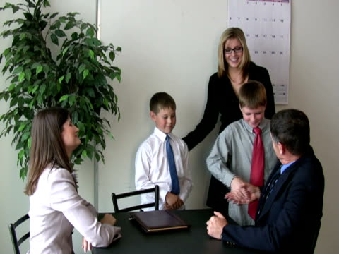 Employee Brings Kids to Work