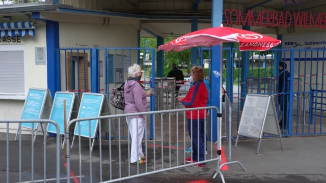 DEU: Hotels And Public Swimming Pools Reopen In Berlin During The Coronavirus Crisis