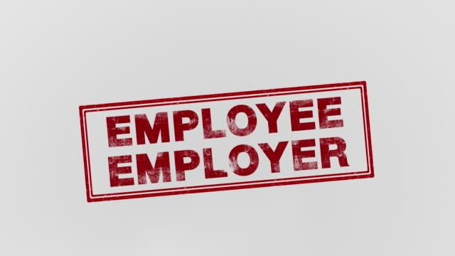 stockvideo's en b-roll-footage met werkgever - op hol slaan