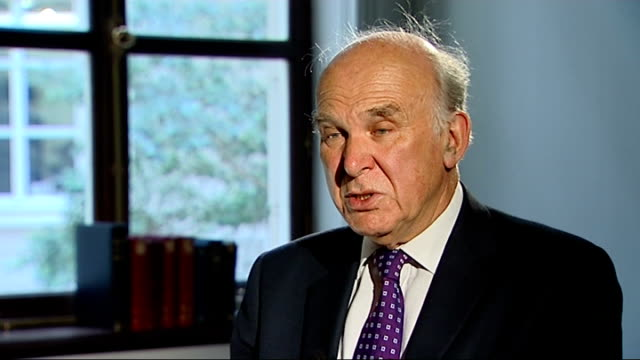 rise in number of workers on zero hours contracts; int vince cable mp interview sot - and a classic case is where somebody is employed on a zero... - vince cable stock videos & royalty-free footage
