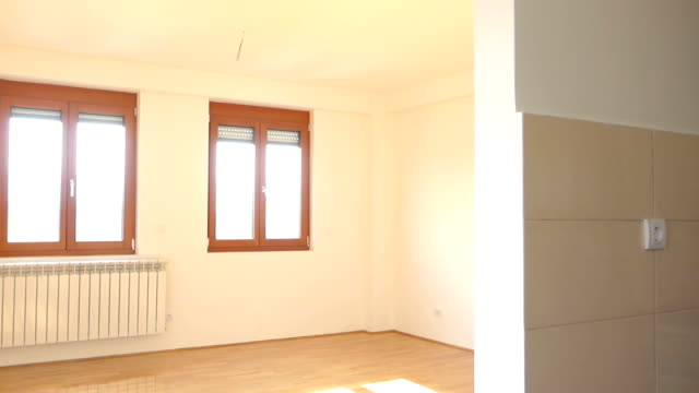 empty apartment for sale - for sale stock videos and b-roll footage