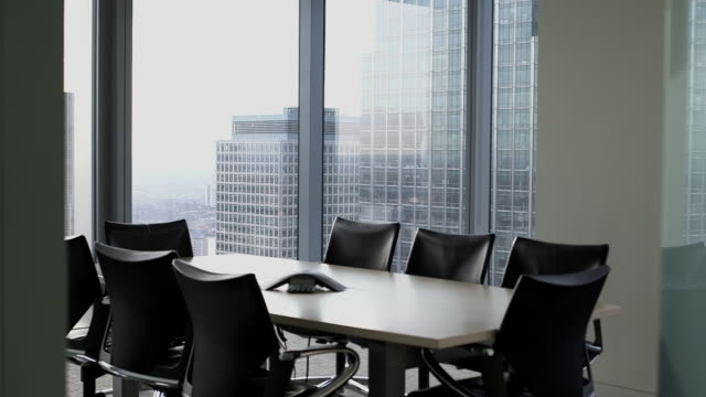 Empty Boardroom in office