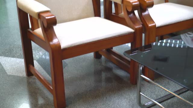 empty chair interior decoration
