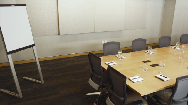 WS PAN Empty conference room / Bellevue, Washington, USA