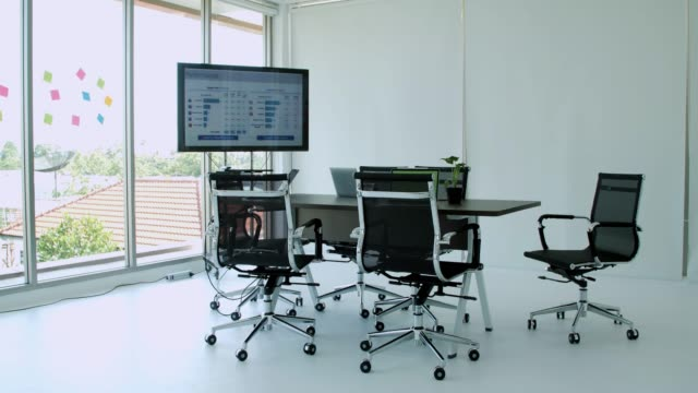Empty conference room.Conference room modern interior design