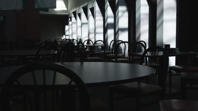 ws ds empty dining room, dallas, texas, usa - no people stock videos & royalty-free footage