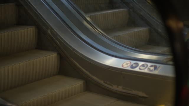 empty escalator - uncertainty stock videos & royalty-free footage