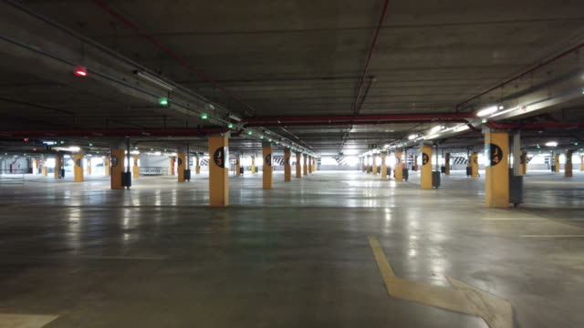 empty garage - shopping centre stock videos & royalty-free footage