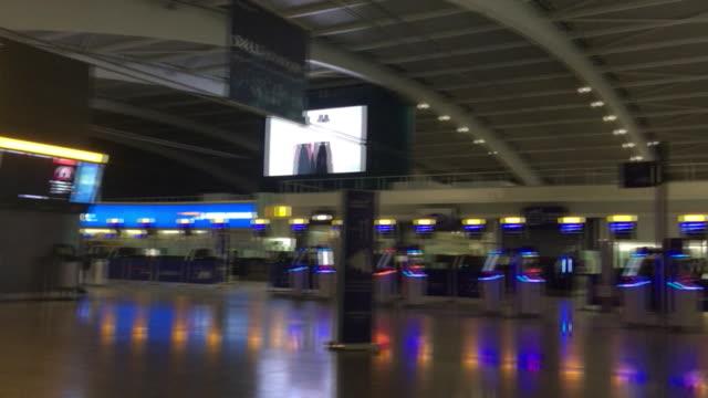 empty heathrow airport during coronavirus outbreak - airport stock videos & royalty-free footage