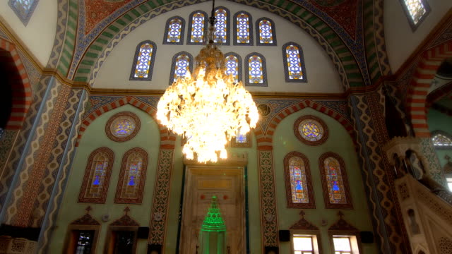 empty mosque - gerusalemme est video stock e b–roll