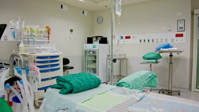 empty new operating room in the hospital - medical instrument stock videos and b-roll footage