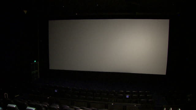 empty odeon cinema during coronavirus lockdown - odeon kinos stock-videos und b-roll-filmmaterial