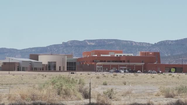 empty parking lot and blocked roads during covid-19 lockdown on navajo nation land during covid-19 pandemic - indigenous north american culture stock videos & royalty-free footage