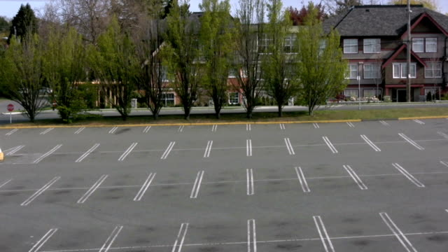 empty parking lot - sparse stock videos and b-roll footage