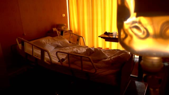 Lege ruimte van de patiënt in het ziekenhuis.