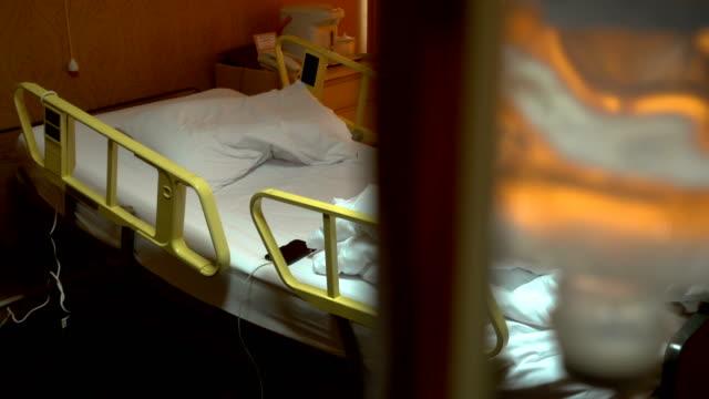 stockvideo's en b-roll-footage met lege ruimte van de patiënt in het ziekenhuis. - ziekenzaal