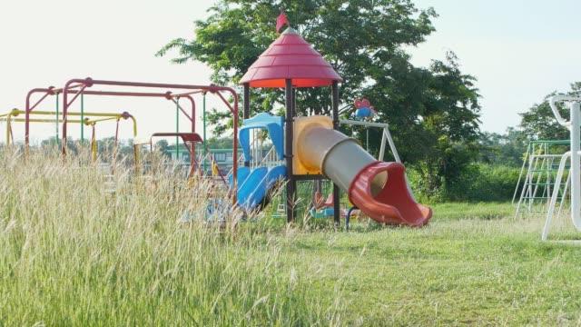 empty playground - playground stock videos & royalty-free footage
