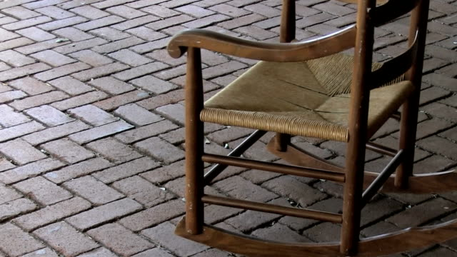 empty rocking chair - rocking chair stock videos & royalty-free footage