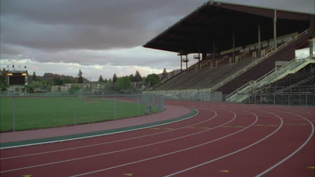 WS Empty running track