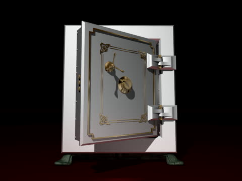 empty safe open door - door knocker stock videos & royalty-free footage