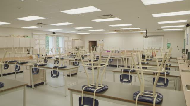 empty school classroom - canada politics stock videos & royalty-free footage