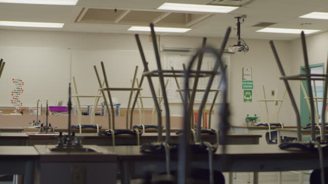 empty school classroom - school building stock videos & royalty-free footage