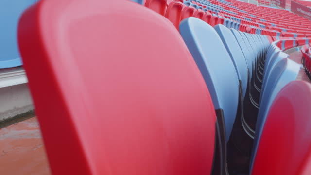 empty seats in a stadium - number 8 stock videos & royalty-free footage