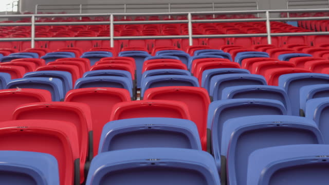 empty seats in a stadium - number 9 stock videos & royalty-free footage