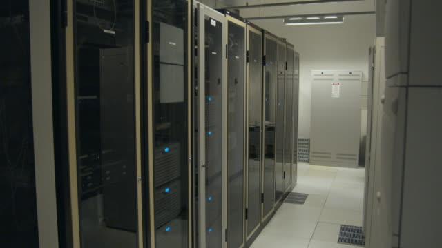 WS DS, Empty server room, Sydney, Australia